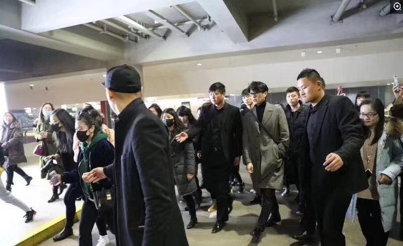 江苏保镖公司参加保护靳东活动现场
